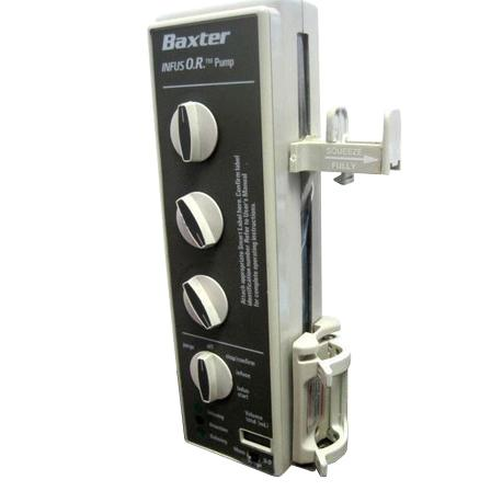 Baxter INFUSO.R. Syringe Pump - Certified Refurbished