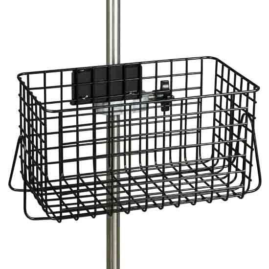 Clinton IV Pole Heavy Duty Wire Basket