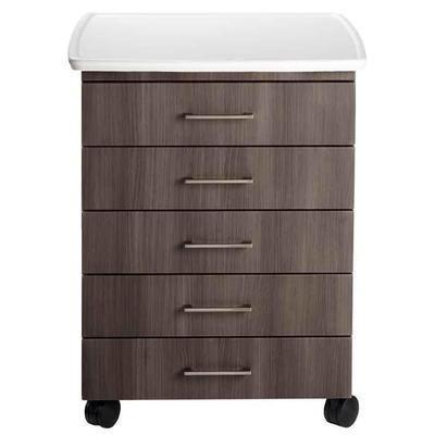 Midmark M5 Mobile Treatment Cabinet with Locks and Kydex Contour Top