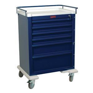 Harloff AL809K6 Tall 6 Drawer Anesthesia Cart