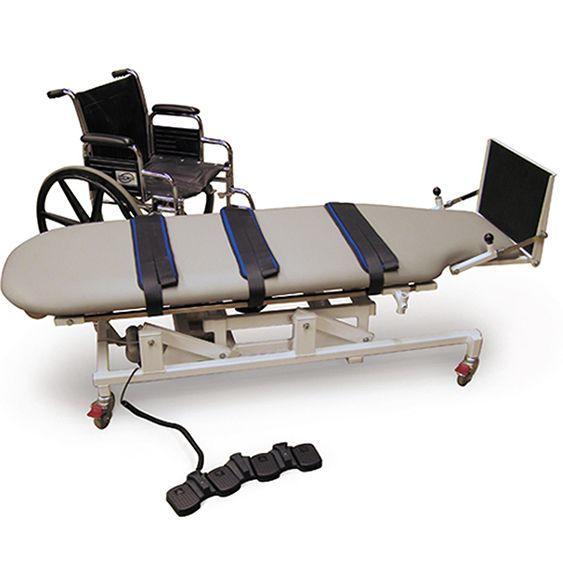 Hausmann 6058 Wheelchair Accessible Hi-Lo Tilt Table - Certified Refurbished