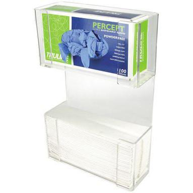 Unico Combination Glove Box/Paper Towel Dispenser