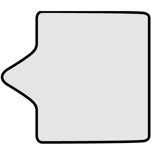 "Hill-Rom/Borning Genesis Foot V-cut 32"" Square Birthing Bed Pad"
