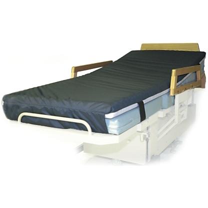 "Overlay Comfort Hospital Bed Pad 76"" X 36"" X 3"" Memory Foam"