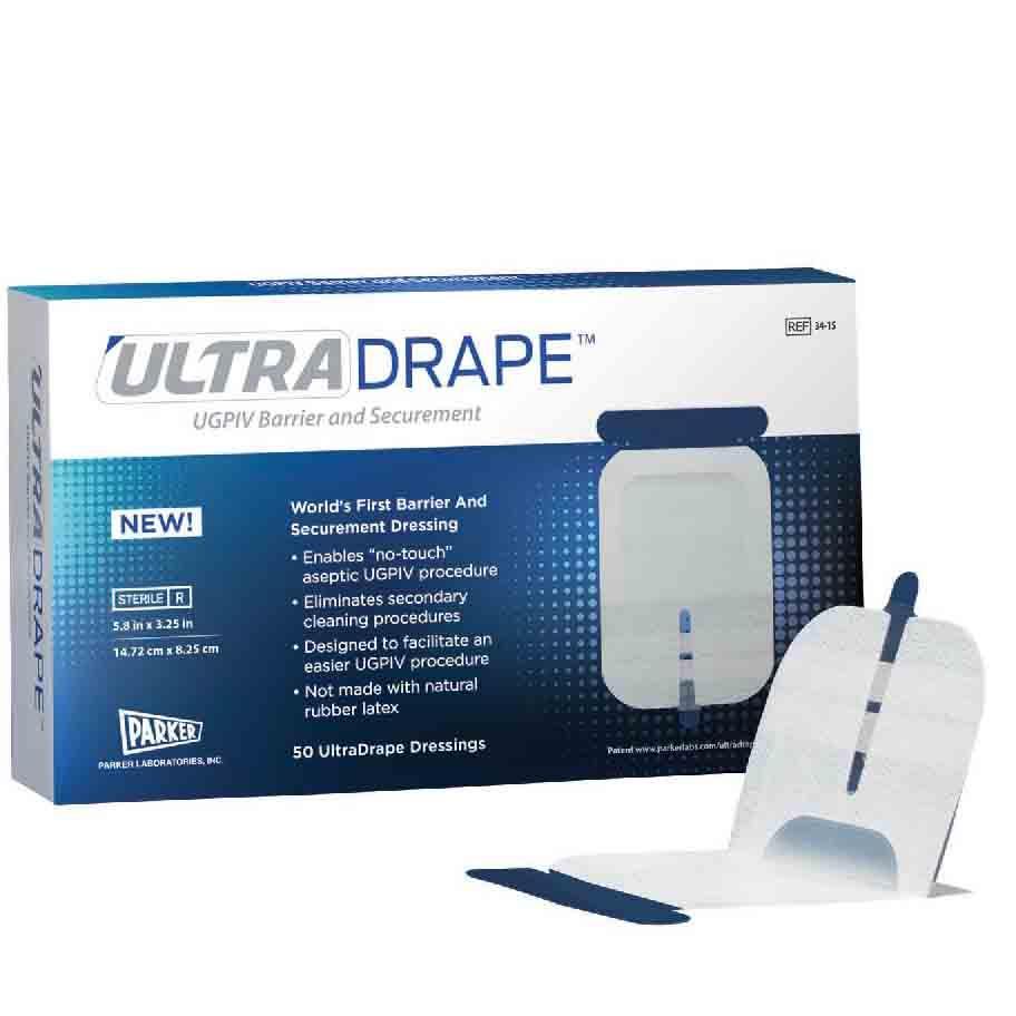 Parker UltraDrape UGPIV Barrier and Securement (200/Case)
