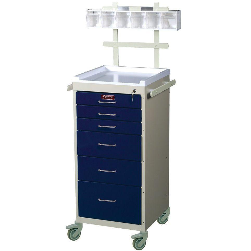 Harloff 3156K-ANS Mini Line Anesthesia Cart