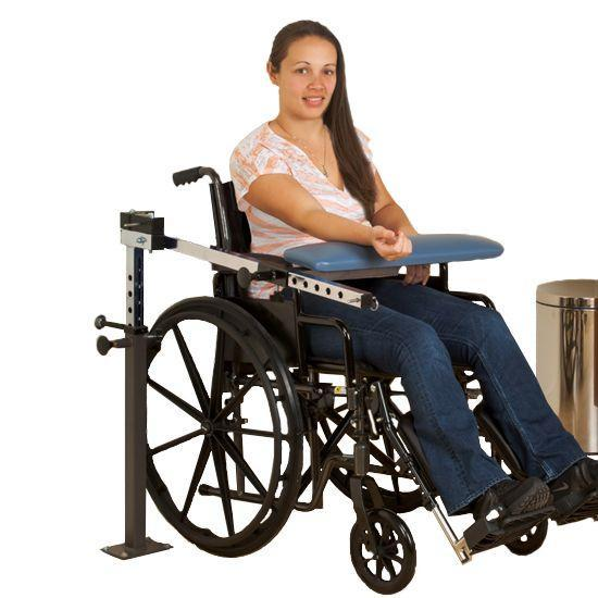 Clinton Wheelchair Blood Drawing Station