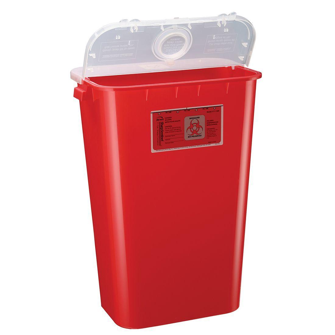 Bemis SharpSentinel 11-Gallon Sharps Container (6/Case)