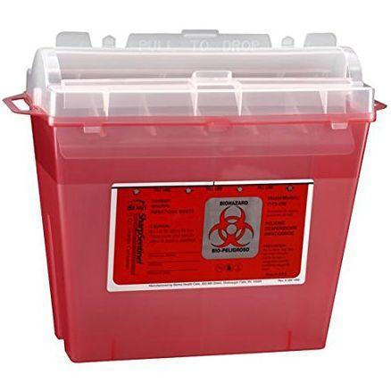 Bemis SharpSentinel 5-Quart Sharps Container