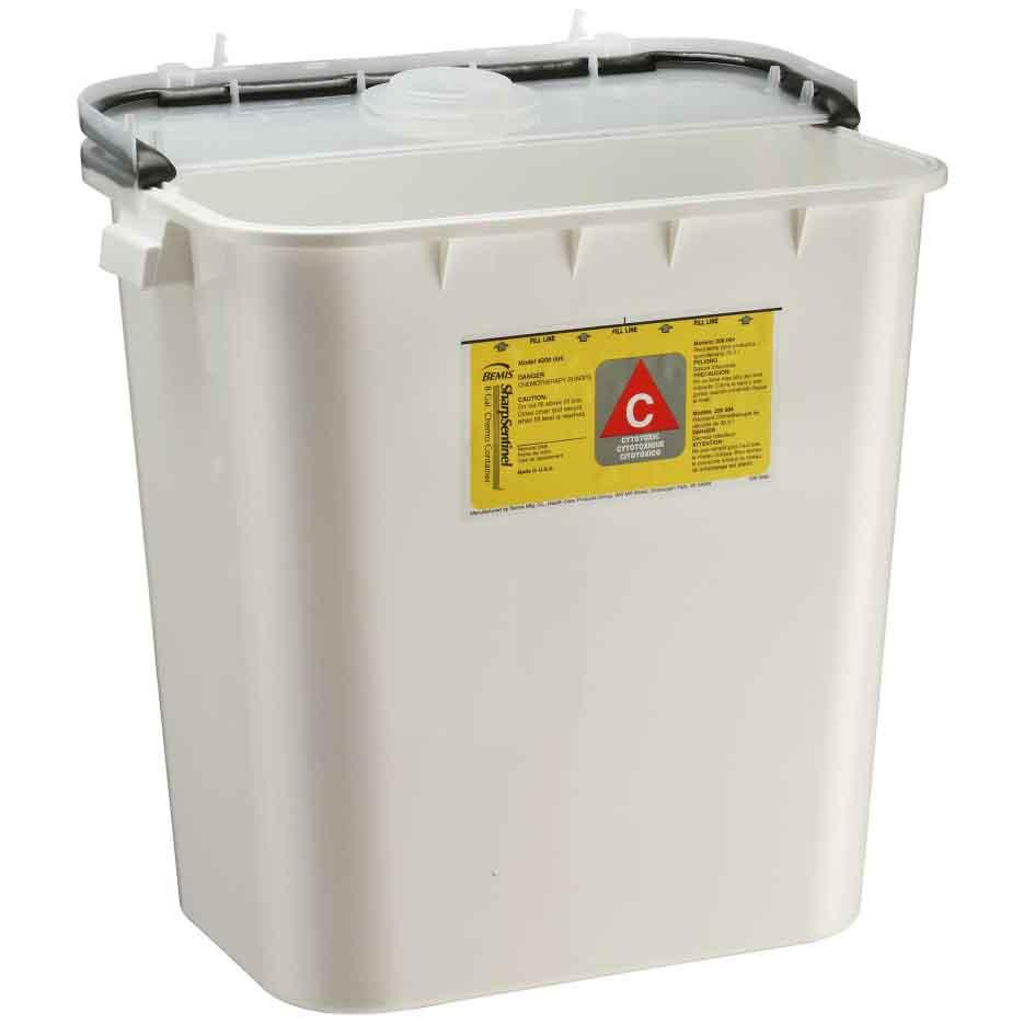 Bemis 8-Gallon Chemotherapy Container (10/Case)