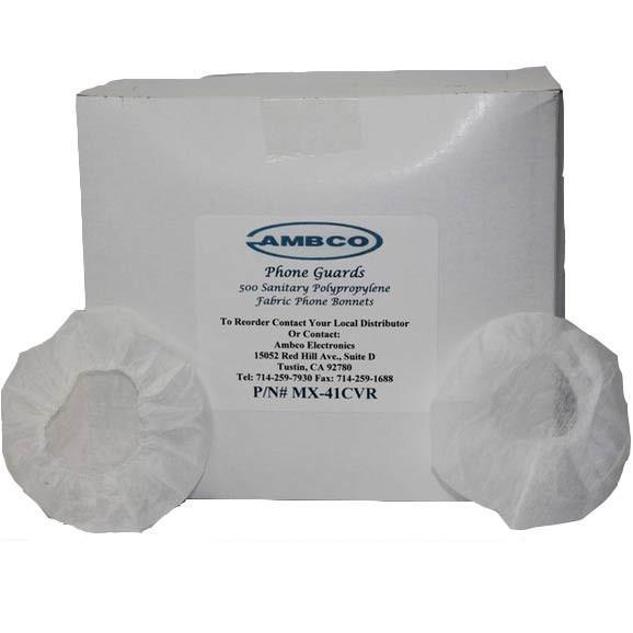 "Ambco Sanitary Disposal Earphone Guards ""Booties"""