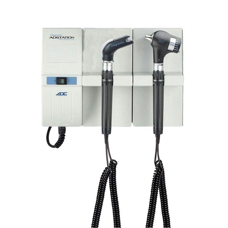 ADC Adstation 5681-6 3.5V Wall PMV Otoscope/Throat Illuminator Diagnostic Set