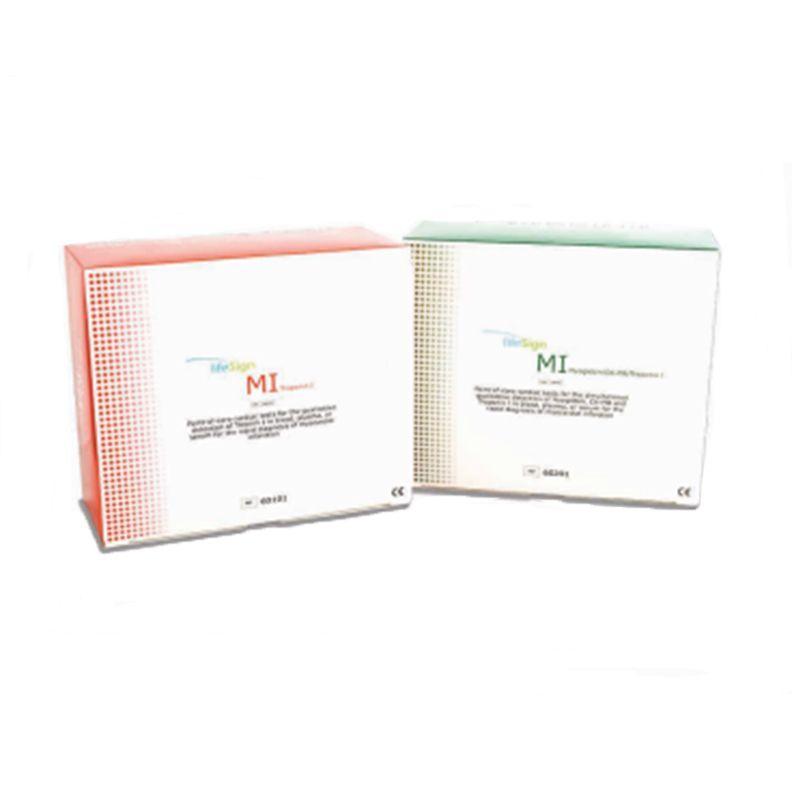 LifeSign MI Cardiac Control Set - POS & NEG