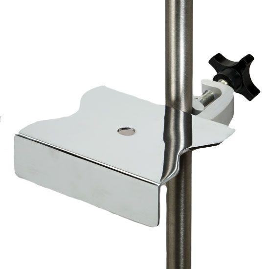 Clinton IV Pole Pump Support Tray