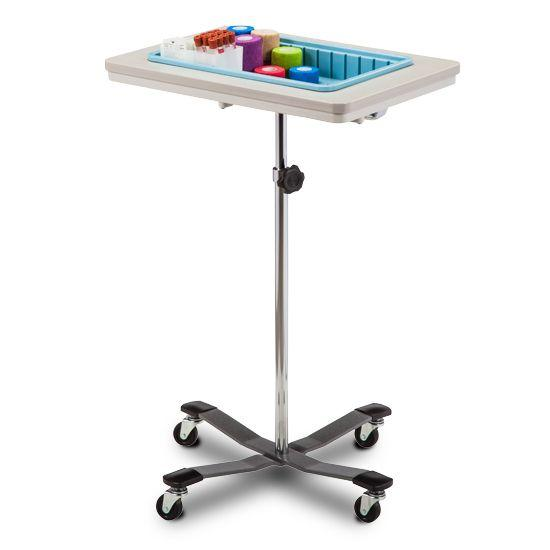 Clinton One-Bin Mobile Phlebotomy Stand