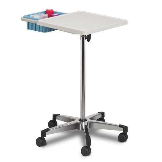 Clinton Mobile Phlebotomy Work Station with Bin