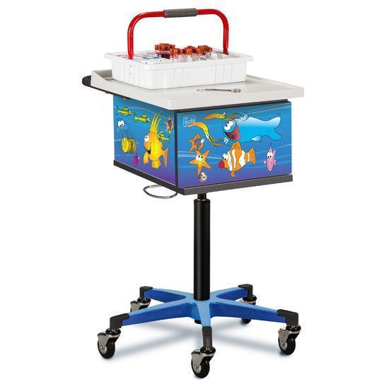 Clinton Pediatric Ocean Commotion Phlebotomy Cart