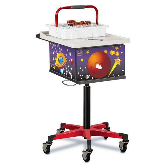 Clinton Pediatric Space Place Phlebotomy Cart