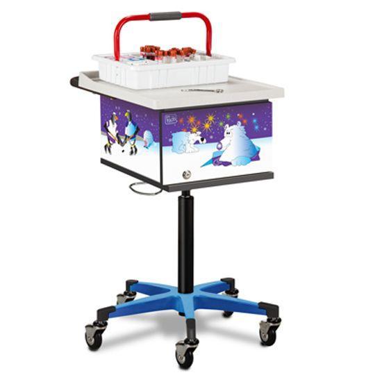 Clinton Pediatric Cool Pals Phlebotomy Cart
