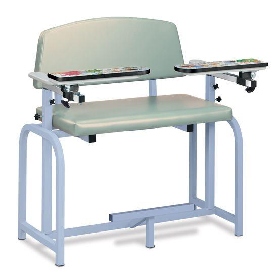 Clinton Pediatric Series/Aquarium Extra Wide Blood Drawing Chair