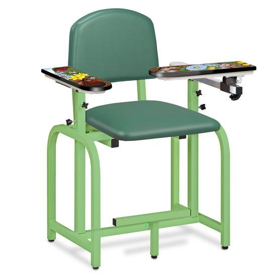 Clinton Pediatric Series/Spring Garden Blood Drawing Chair