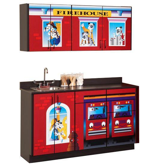 Clinton Firehouse Cabinets