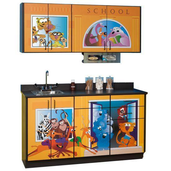 Clinton Schoolhouse Cabinets