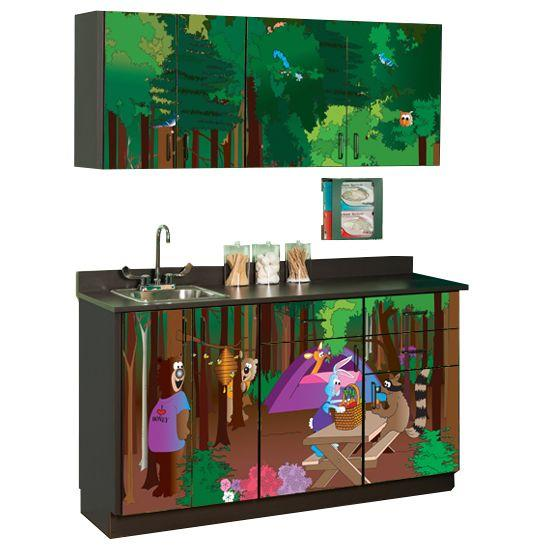 Clinton Cool Park Campgrounds Cabinets