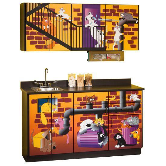 Clinton Alley Cats and Dogs Cabinets