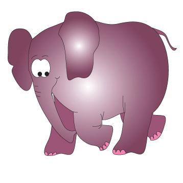 Clinton Serengeti Elephant Wall Sticker