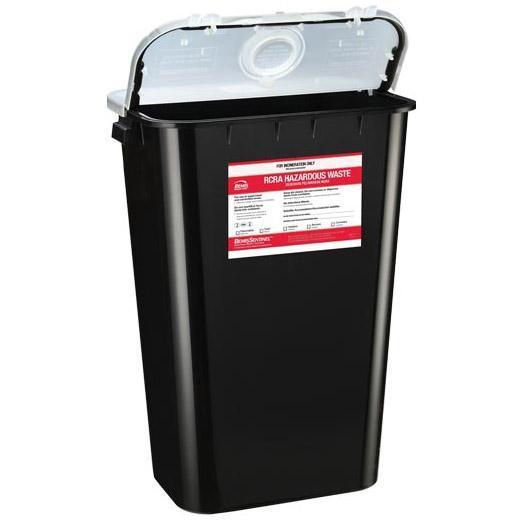 Bemis 11-Gallon RCRA Waste Container (6/Case)
