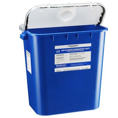 Bemis 8-Gallon Pharmacy Waste Container (10/Case)