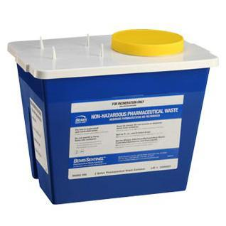 Bemis 2-Gallon Pharmacy Waste Container (30/Case)