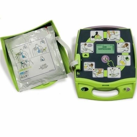 Zoll AED Plus Defibrillator with PlusTrac Professional