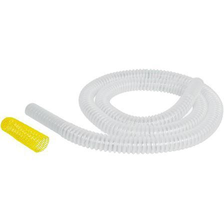 "Surgimedics Sterile 7/8"" x 6' Vacuum Tubing with Wand & Sponge Guard (24/Box)"