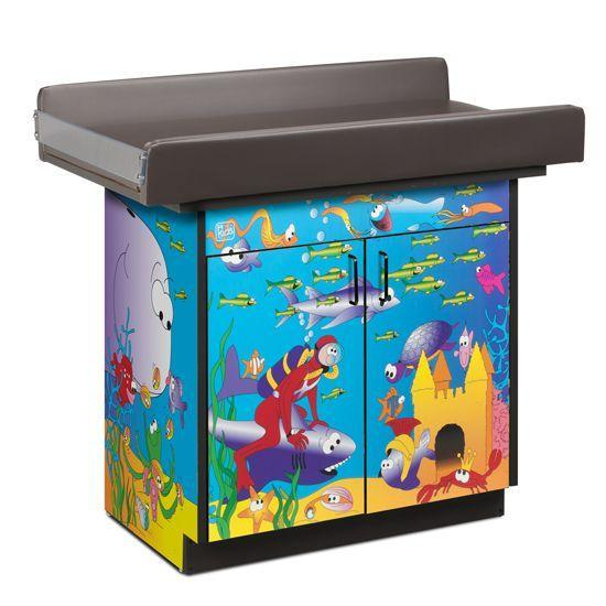 Clinton Imagination Series/Ocean Commotion Infant Blood Drawing Station with 2 Doors