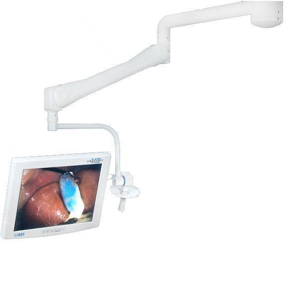 Bovie System Two Monitor Arm - Single Ceiling Mount