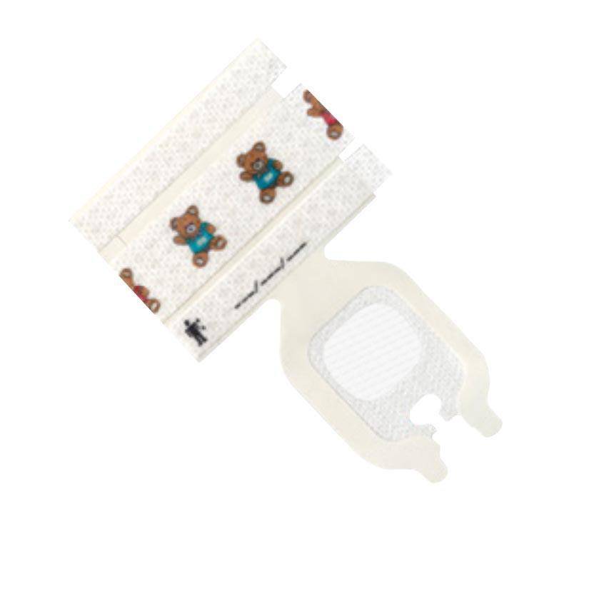 3M Tegaderm Pediatric Advanced Securement I.V. Dressing (100/Box)