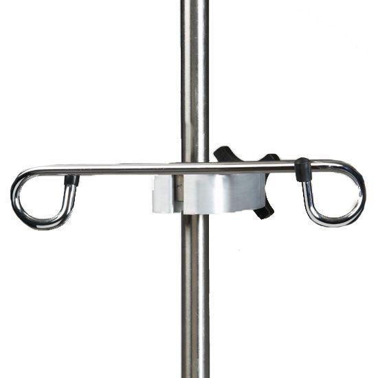 Clinton IV Pole Ram's Horn Accessory Hook