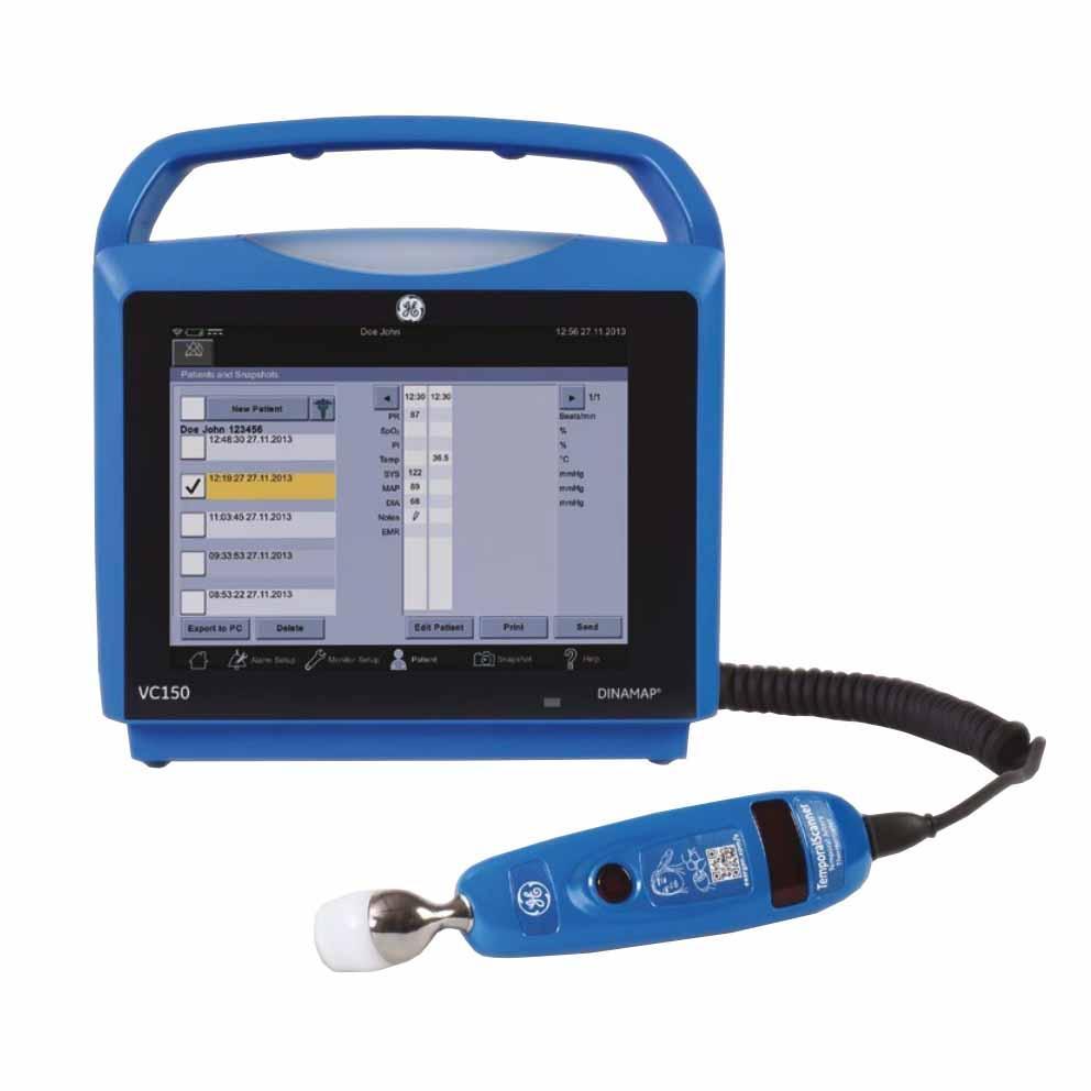 GE CARESCAPE VC150 Vital Signs Monitor