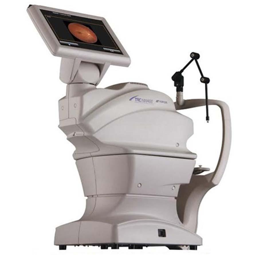 Welch Allyn Topcon TRC-NW400 Non-Mydriatic Retinal Camera
