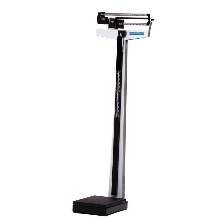 Health o meter 450KL Mechanical Beam Scale with Rotating Poise Bars