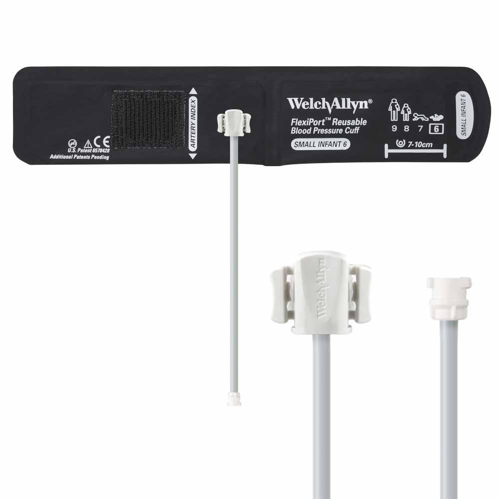 Welch Allyn FlexiPort Reusable Blood Pressure Cuff with One-Tube Locking Connector