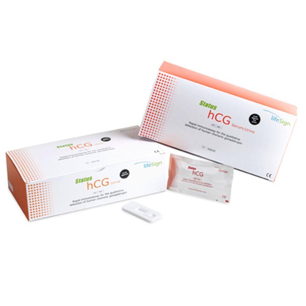 LifeSign Status hCG Urine/Serum Combo Cassette (35 Tests)